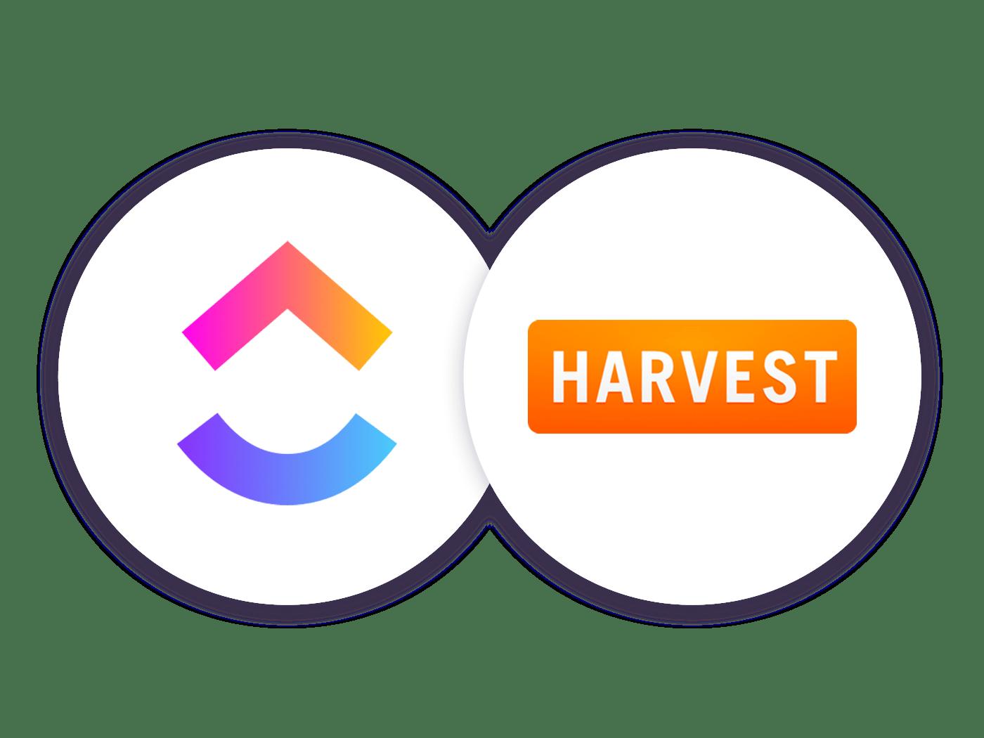 Harvest for ClickUp.