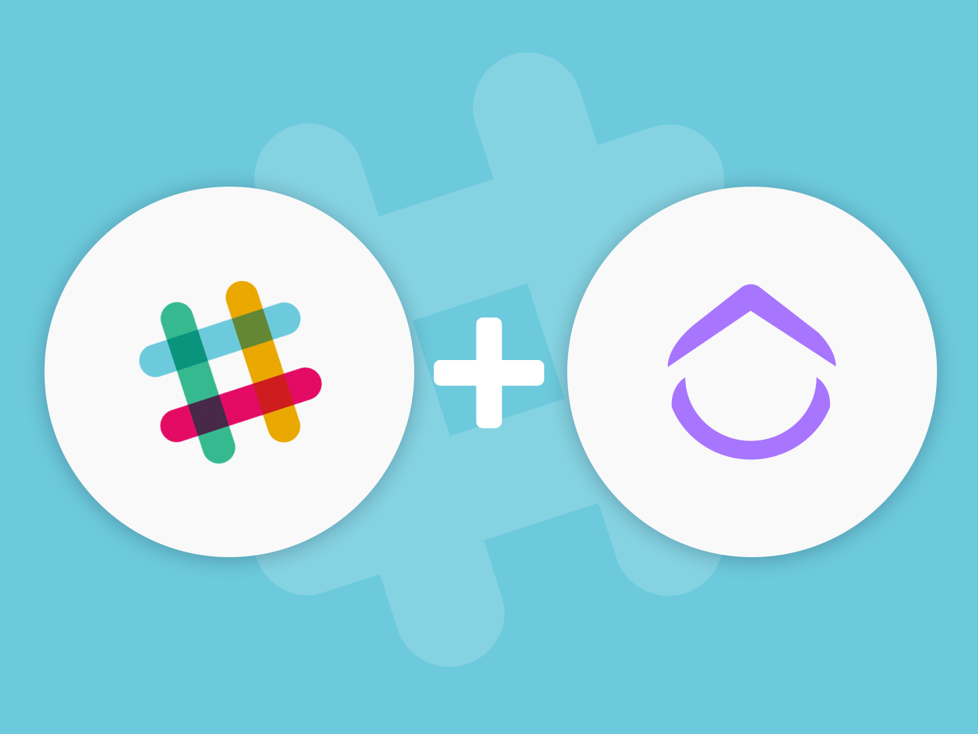 Slack project management with ClickUp