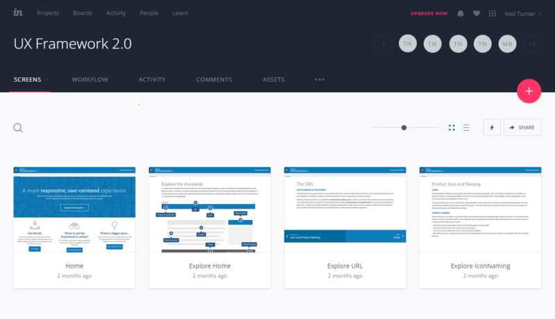 invision online collaboration tool