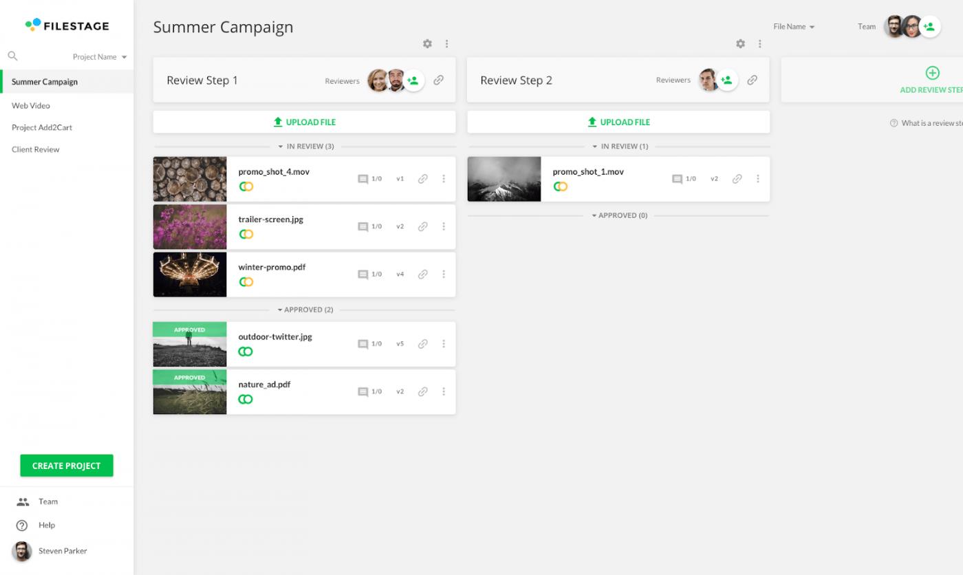 filestage collaboration tool