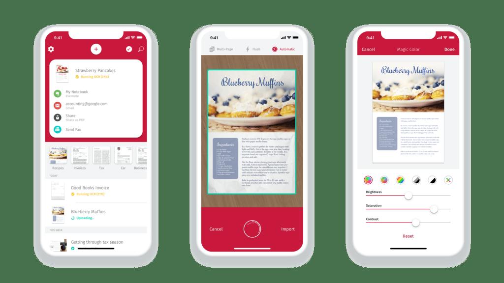 scanbot mobile app