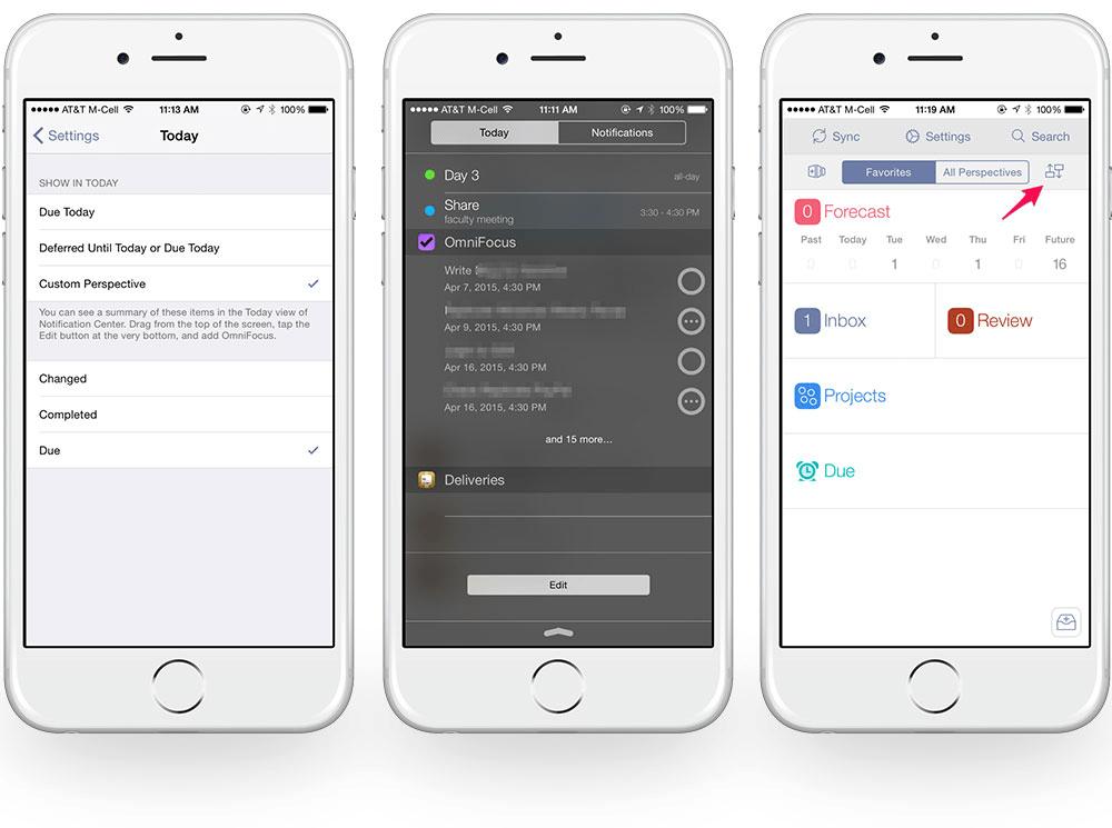 omnifocus mobile to do list app