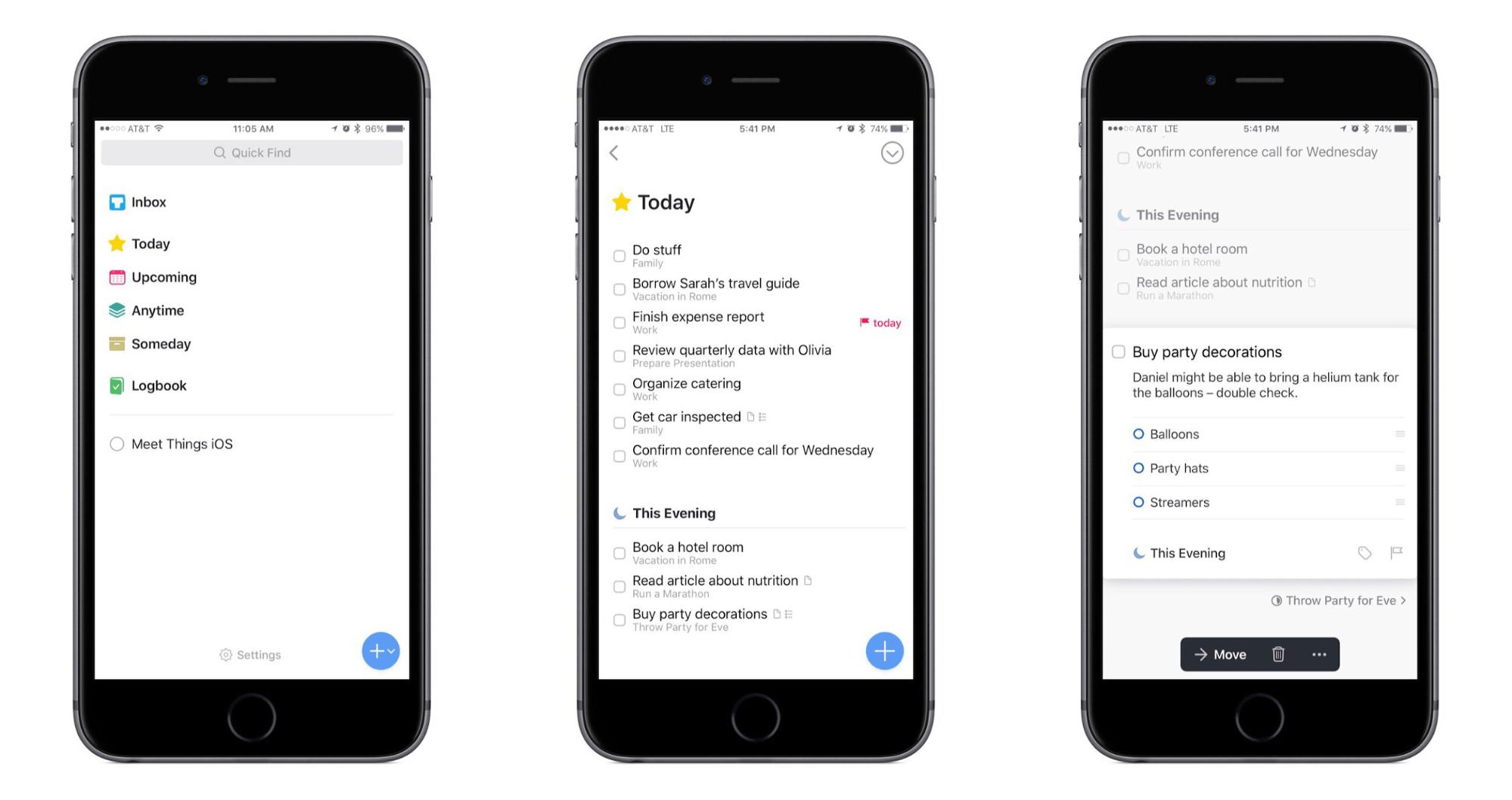 things mobile planner app
