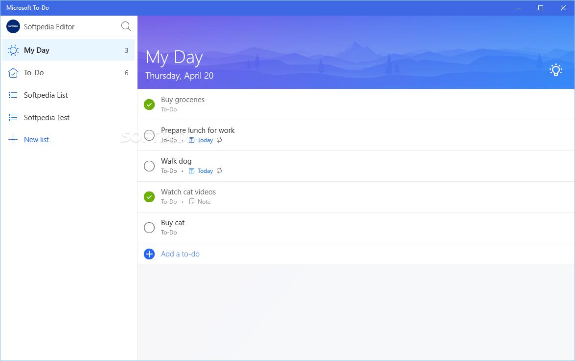 to do list app microsoft to do