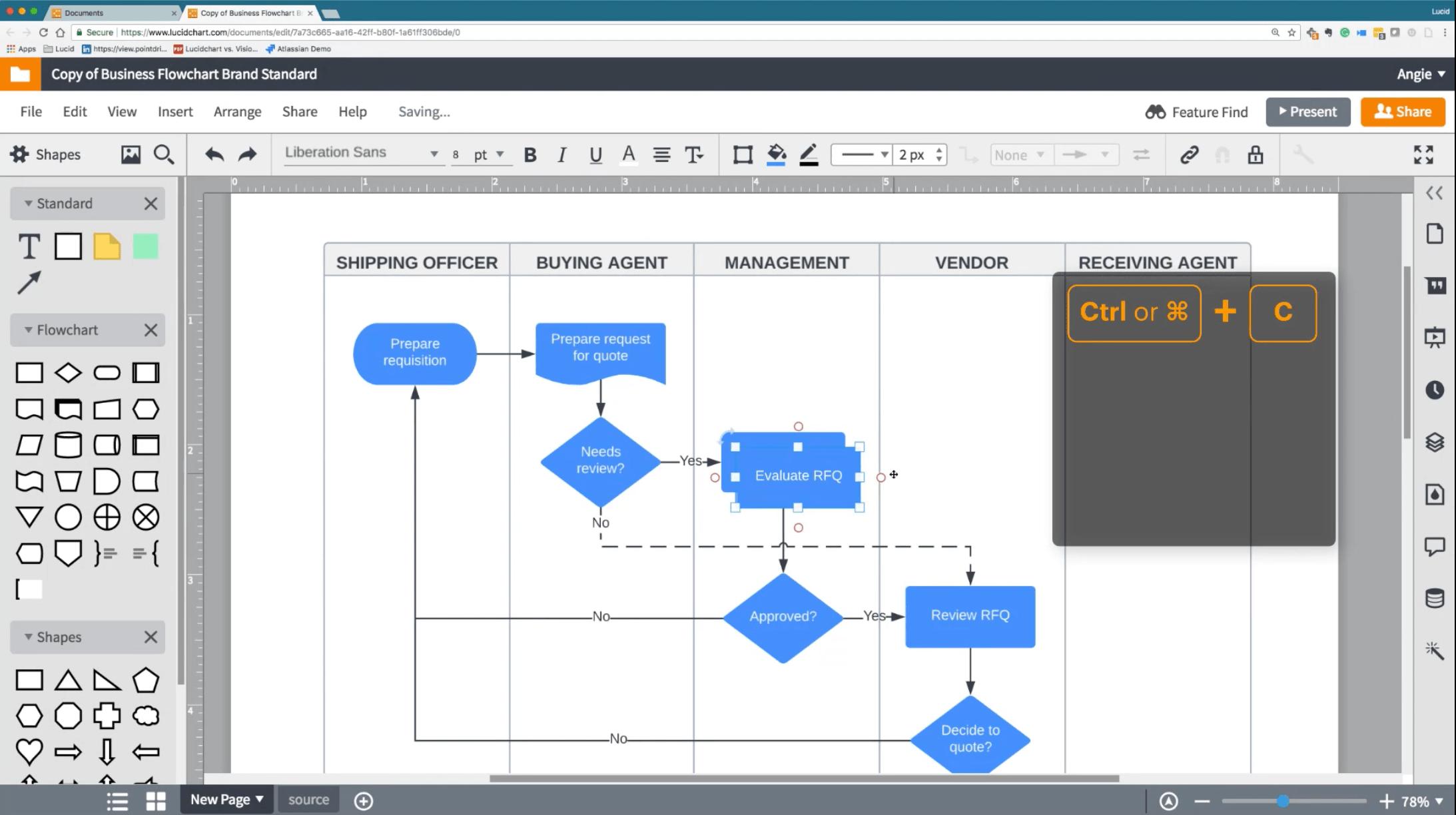 lucidchart flow chart