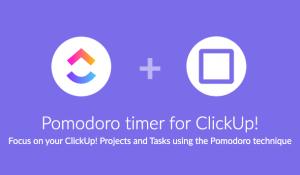 Pomodone ClickUp integration