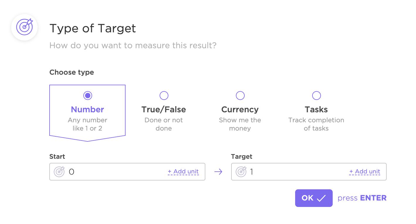 Target in ClickUp