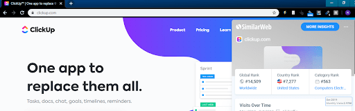 similarweb extension