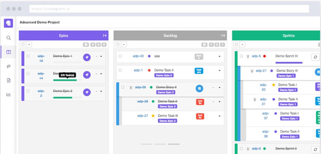 Codegiant agile tool