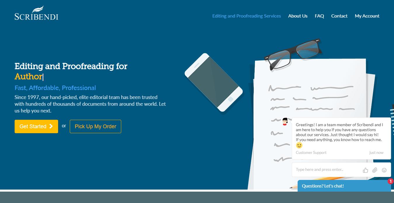 scribendi homepage