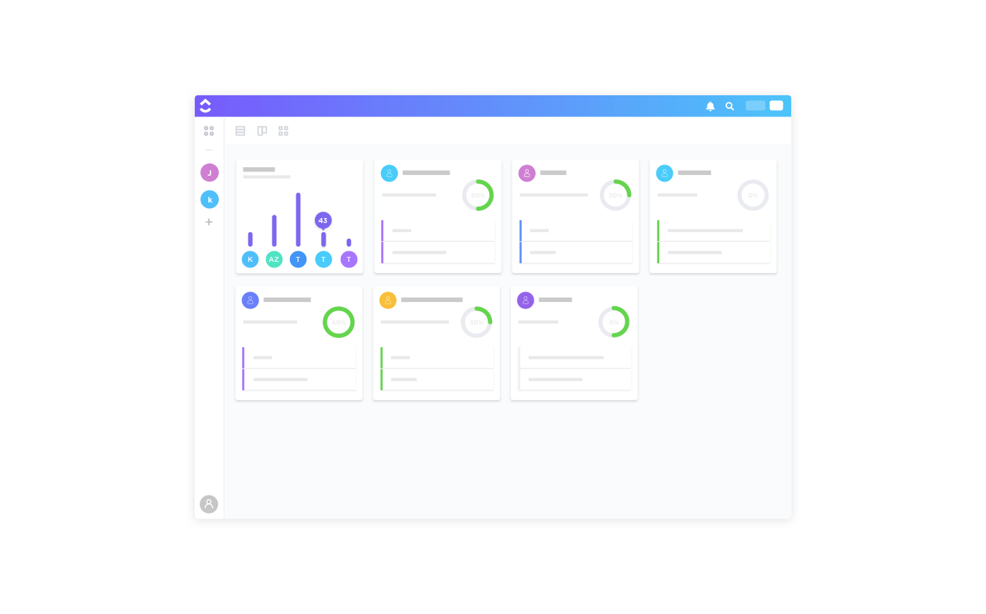 agile project box view in clickup