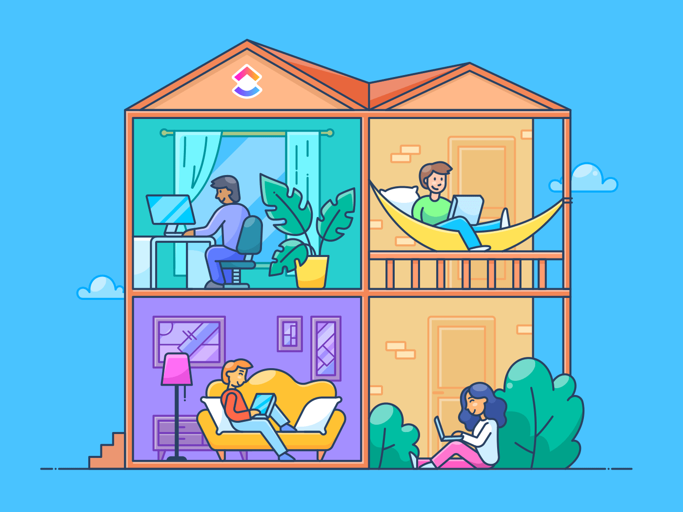 Nine Ways to Stay Productive When Working from Home