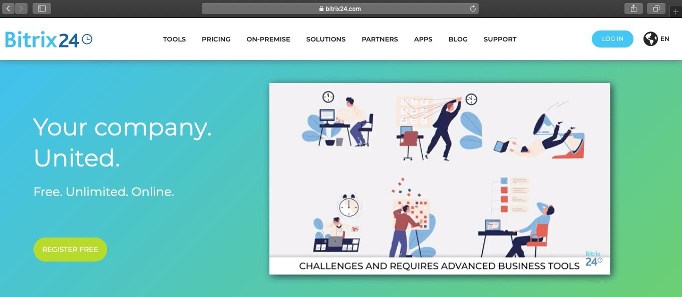 Bitrix24 website