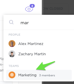 assignees in ClickUp