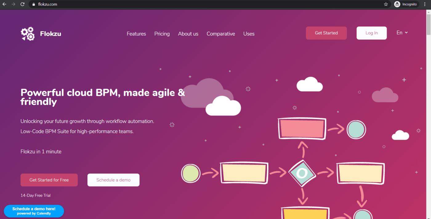 flokzu homepage