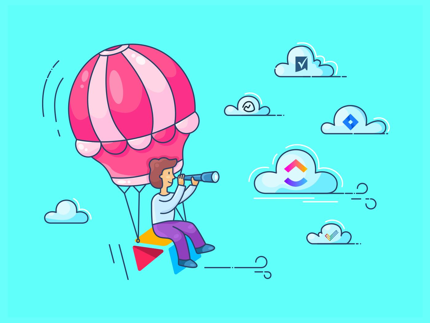 hot air balloon with airtable alternatives