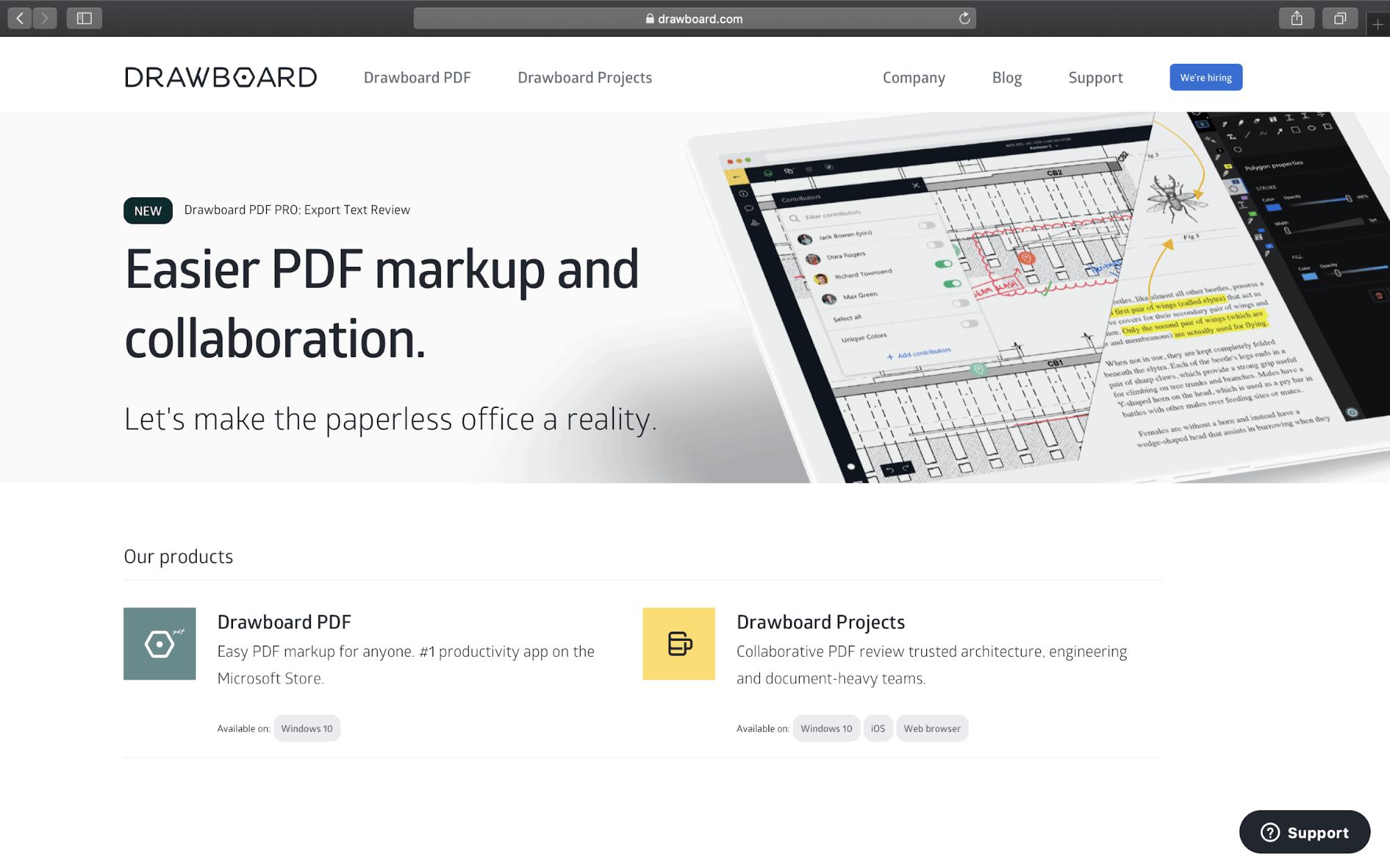 drawboard tool
