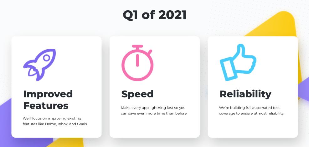 Q1 2021 vision