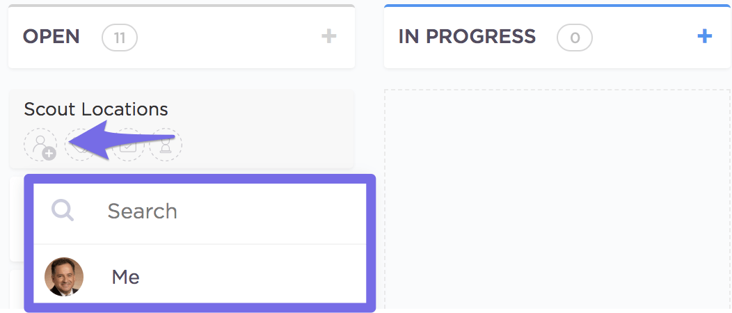 ClickUp user being assigned a task