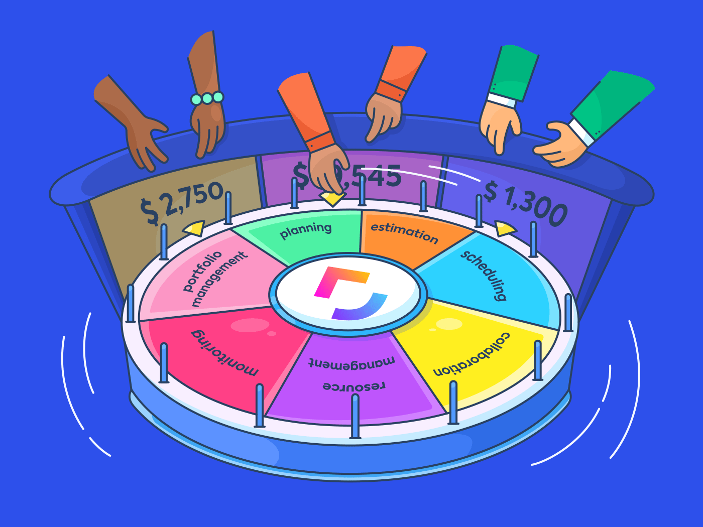 clickup wheel of fortune