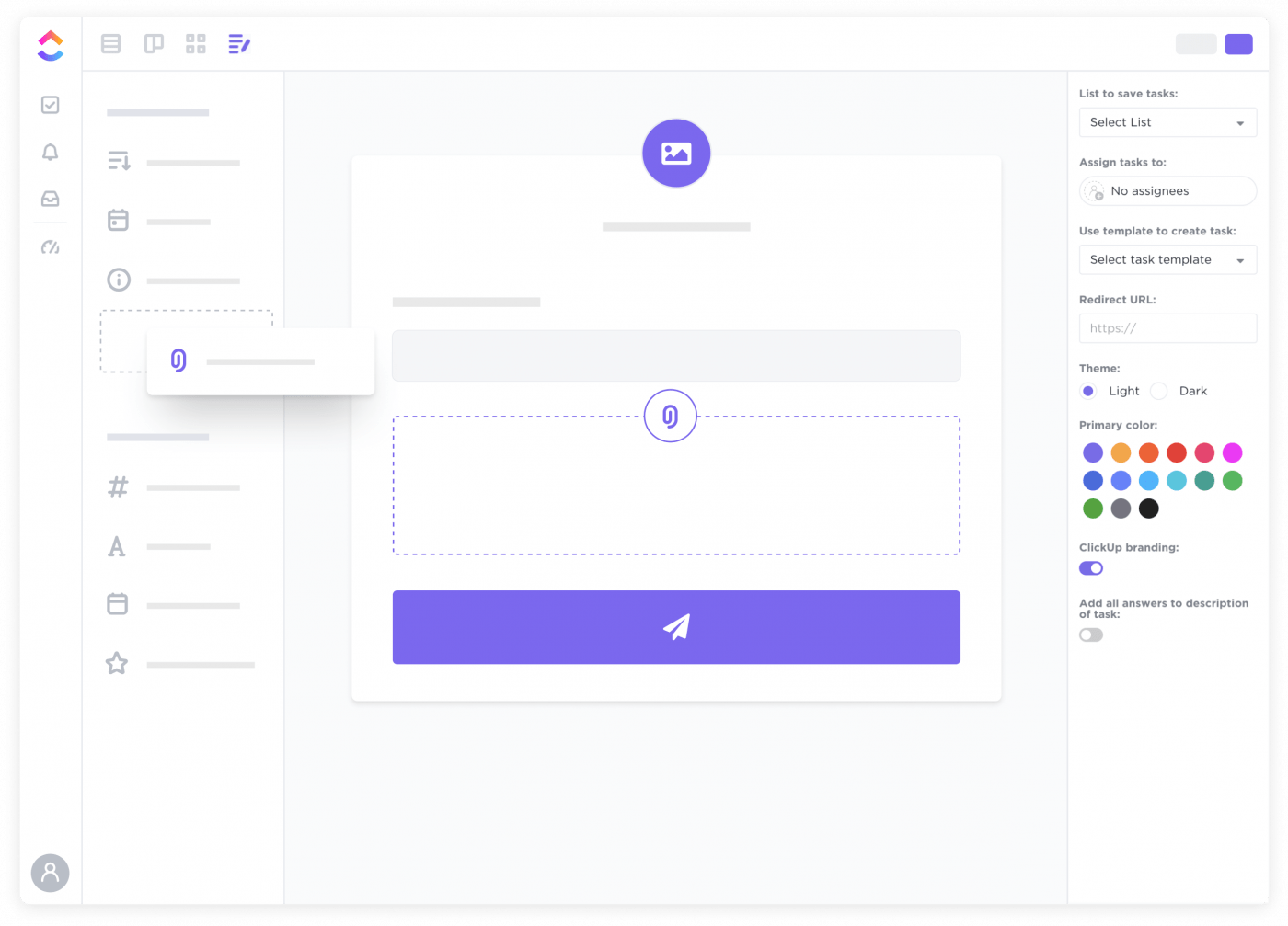 Forms in ClickUp