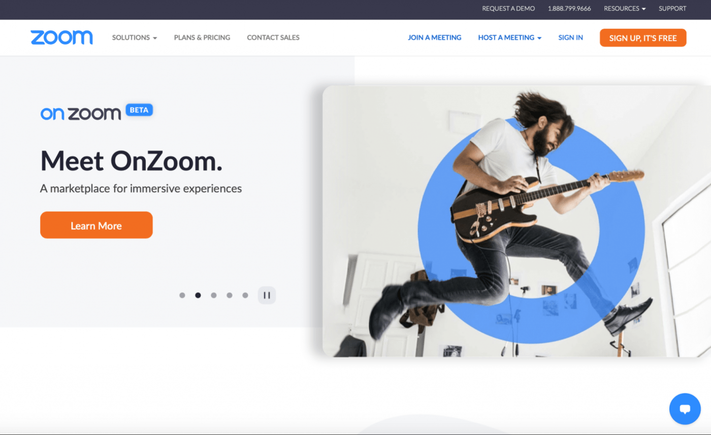 learn more about onzoom zoom homepage