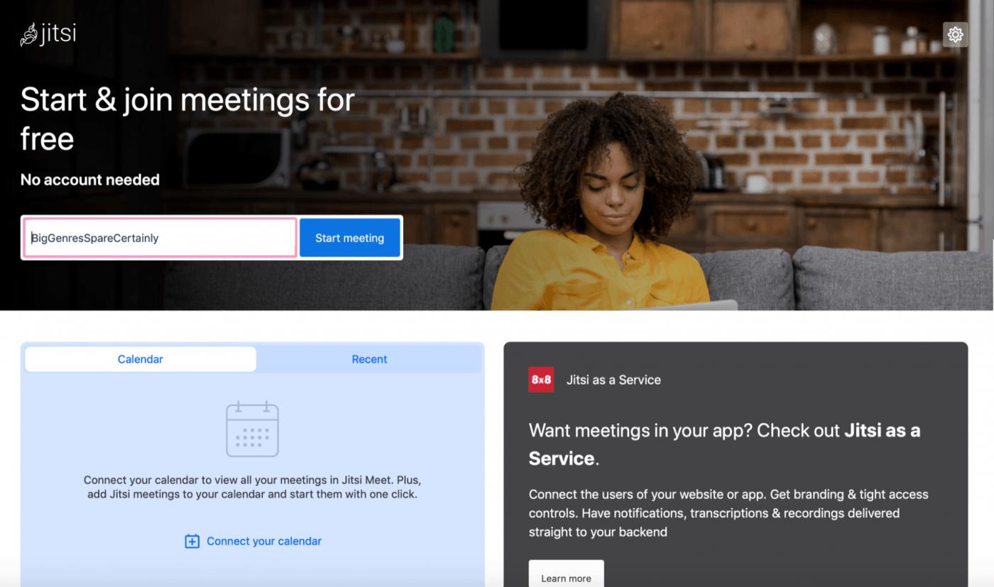 jitsi meet start and join meetings for free homepage