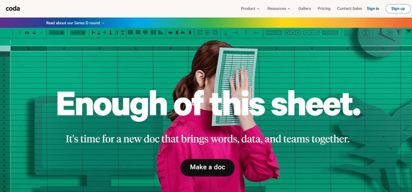 Coda Home Page