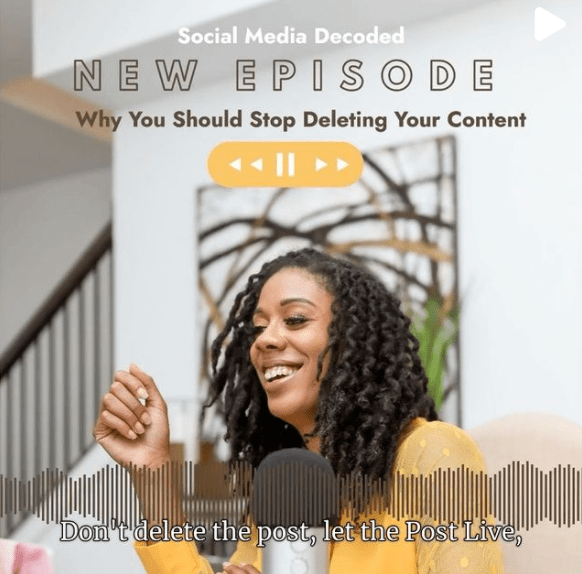 Michelle Thames Social Media Decoded podcast