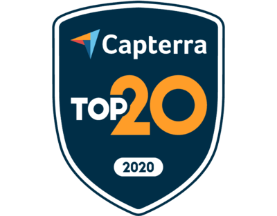 Capterra Top 20 for Project Management Apr-20