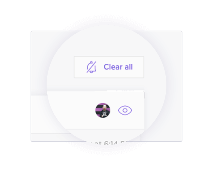 Clear all notifications with one click