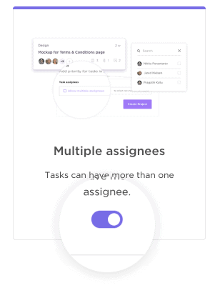 Customize ClickUp with multiple assignees