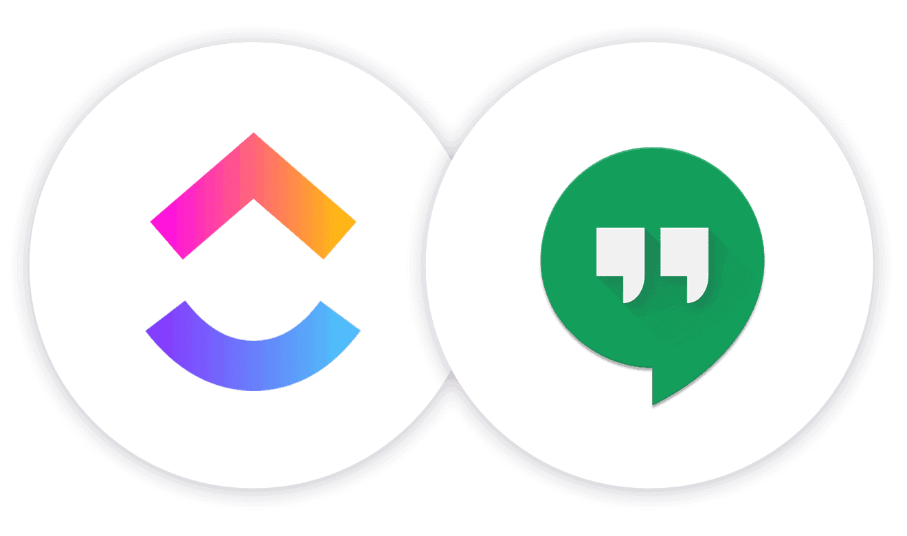 Collaborate Further: Hangouts Chat + ClickUp