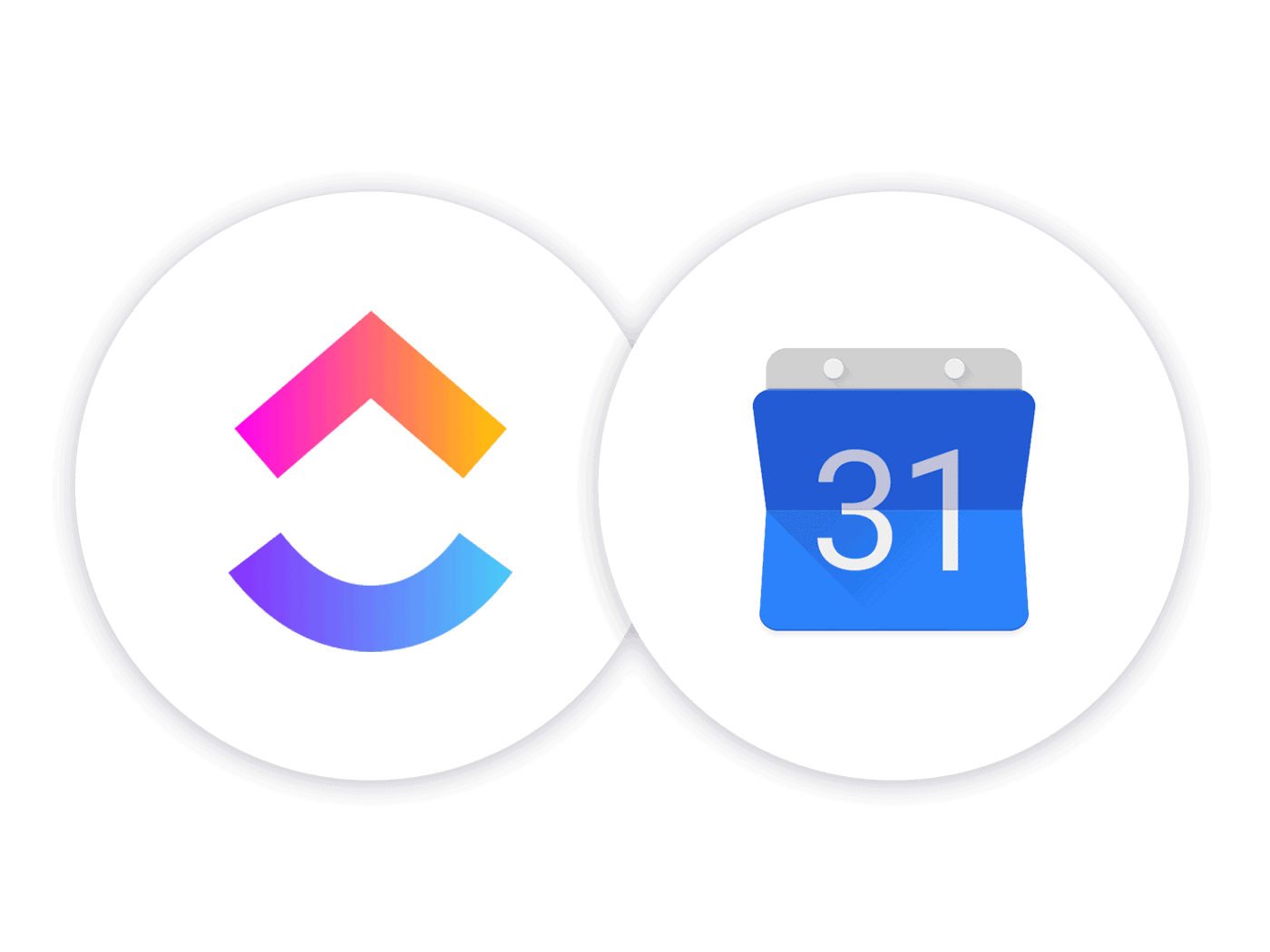 Sync Google Calendar and ClickUp