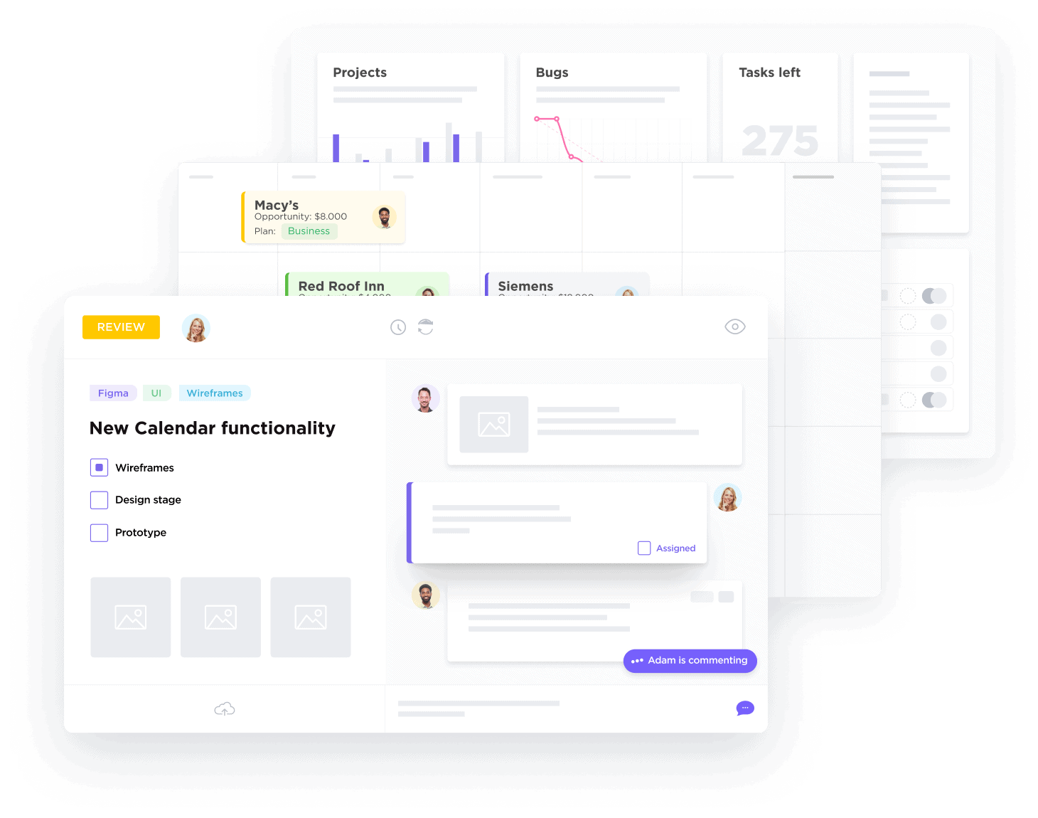 All of your projects, in one place.