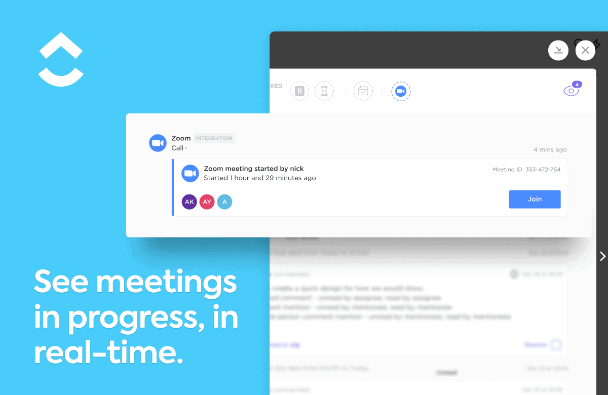 Automatically join a meeting.